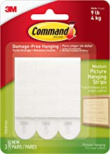 Command 17201P-ES Medium Picture Hanging Strips