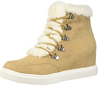 9a68e8148d2b9 Amazon.com: sneakers for women - Beige / Boots / Shoes: Clothing ...