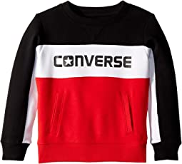 Converse Kids - Color Block Crew (Little Kids)