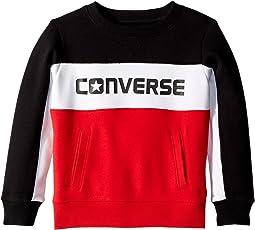 Converse Kids Color Block Crew (Little Kids)