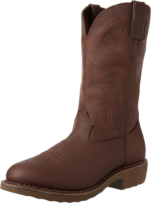 Durango Stiefel Stiefel FR104 Westernreitstiefel Work Stiefel, braun (Weite EE), 40.5 EU