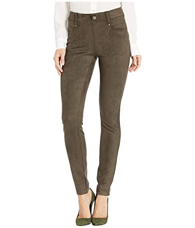 Liverpool Gia Glider/Revolutionary Pull-On Knit Sueded Leggings (Forest Moss) Women