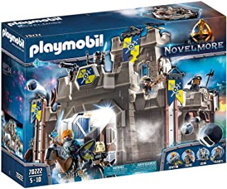 PLAYMOBIL Novelmore Fortress with Knights Playset, Multicolored, 515 x 142 x 385 mm
