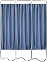 Omnimed 153053-35 Beamatic Privacy Screen with Fabric Panels, Norway, 3 Section