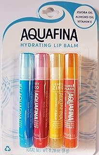 Aquafina Hydrating Lip Balm - 4 Pack