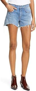 [ラグアンドボーン] レディース デニム rag & bone Dre Distressed Denim Shorts ([並行輸入品]