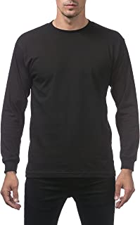 Pro Club Men's Comfort Cotton Long Sleeve T-Shirt