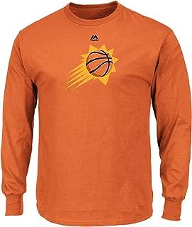 Majestic Athletic Mens Logo II Long Sleeve Crew Neck Tee - Phoenix Suns