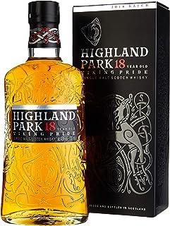 Highland Park 18 Jahre Viking Pride Single Malt Scotch Whisky 1 x 0.7 l – intensiver Whisky, Lagerung in Ex-Sherry-Fässern, der Stolz der Wikinger