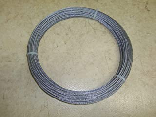 Montree Shop 100 Ft. 1/8th Snare Cable Snaring Traps Trapping Raccoon Fox Bobcat
