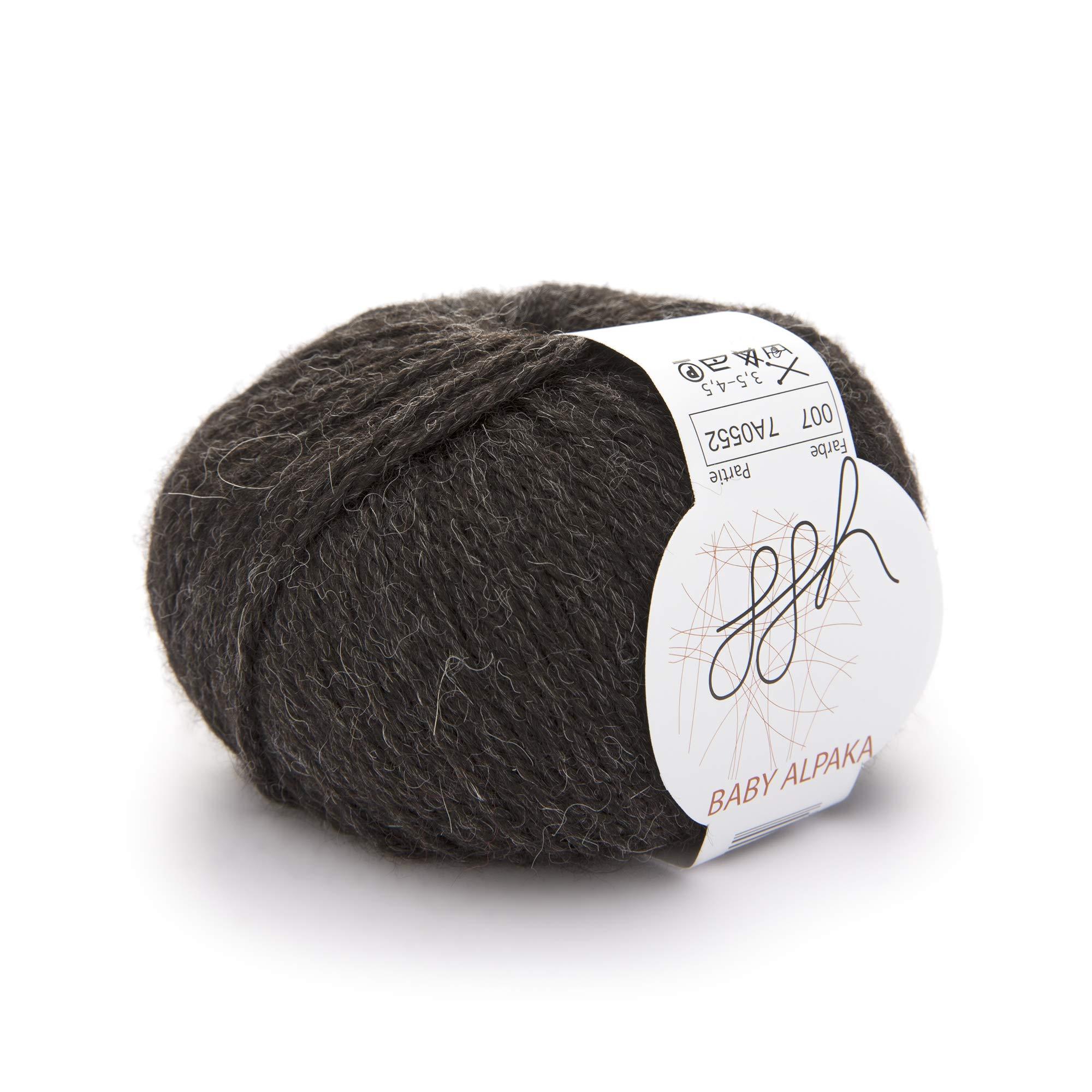 ggh Baby Alpaka natur - 003 - caja de cartón - Lana de alpaca bebé para tejer y hacer ganchillo: Amazon.es: Hogar