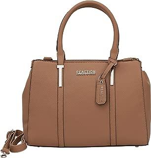 KN1860 Triple Entry Harriet Satchel Handbag