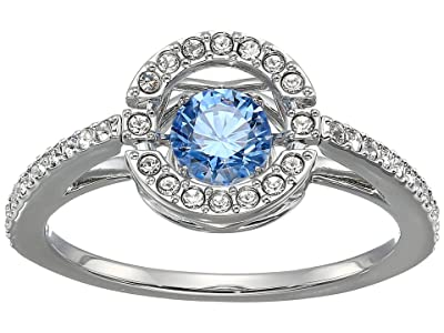 Swarovski Sparkling Dance Round Ring (CZ Fancy Light Blue/Aqua) Ring