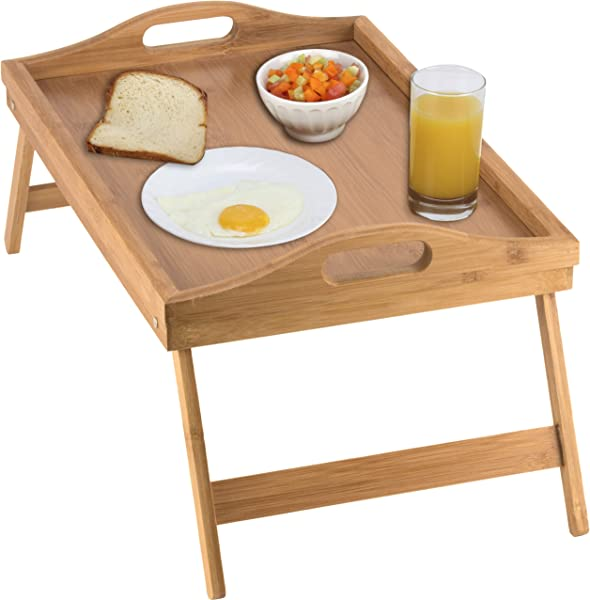 Home It Bed Tray Table With Folding Legs And Breakfast Tray Bamboo Bed Table And Bed Tray With Legs