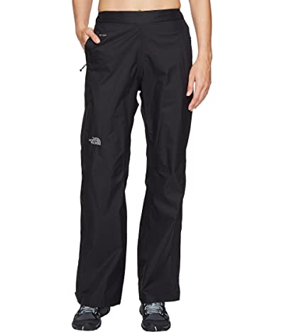 The North Face Venture 2 1/2 Zip Pants (TNF Black) Women