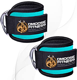 DMoose Fitness Ankle Strap for Cable Machines for...