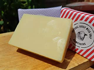Fresh Sheep Milk Soap (95 g). Hampshire, UK
