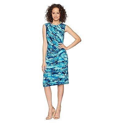NIC+ZOE Petal Splash Twist Dress (Multi) Women