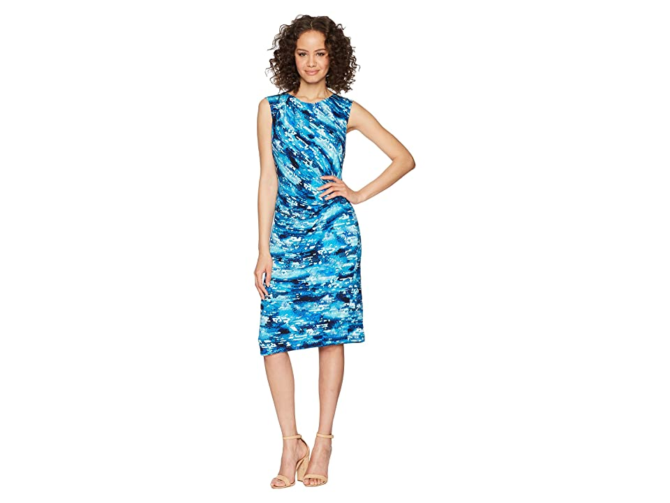 NIC+ZOE Petal Splash Twist Dress (Multi) Women