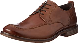 ROCKPORT Men's Dress Wynstin Apron Toe Shoe, Brown, 8 US
