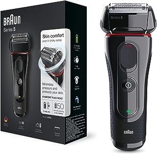 Braun Series 5 5030s Men's Electric Foil Shaver, Pop Up Precision Trimmer, Waterproof, Black