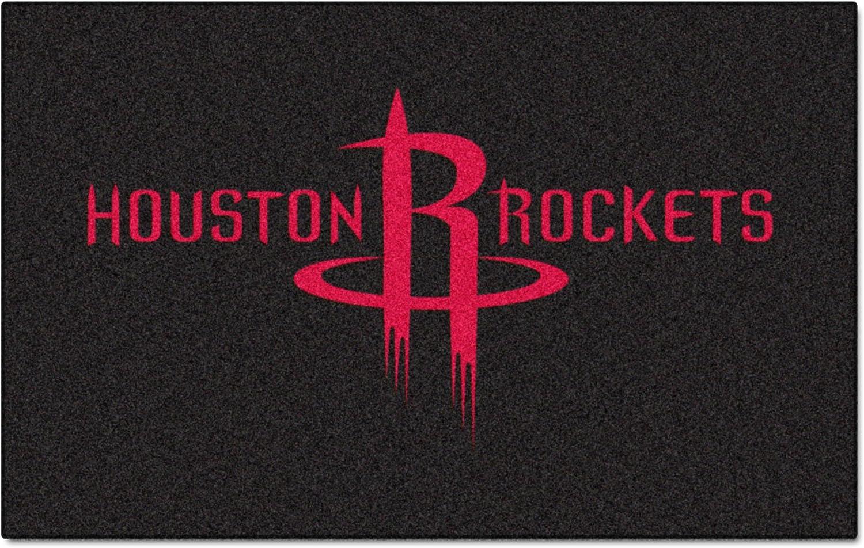 Fanmats 9274 NBA Houston Rockets Nylon Face Ultimat Rug