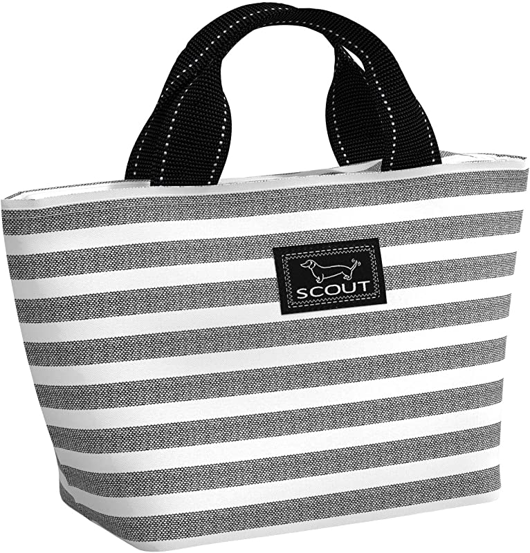 SCOUT Nooner Lunch Box Insulated Lunch Bag For Women Water Resistant Soft Cooler Lunch Tote With Zipper Closure Multiple Patterns Available