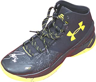 f7ddd7f9ab76 Stephen Curry Golden State Warriors Signed Autographed Under Armour  Basketball Shoe PAAS COA