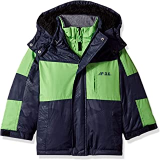 LONDON FOG Boys' Mid-Length Winter Coat Jacket