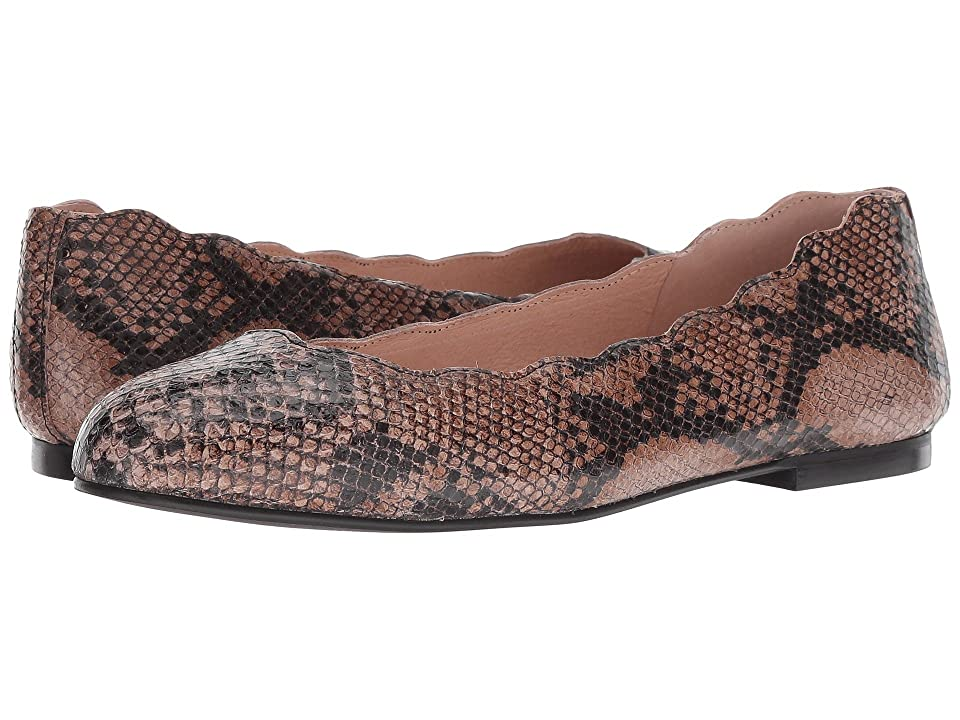 French Sole Jigsaw (Taupe Snake) Women