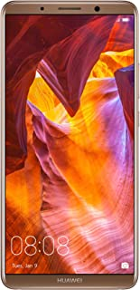 """Huawei Mate 10 Pro Unlocked Phone, 6"""" 6GB/128GB, AI Processor, Dual Leica Camera, Water Resistant IP67, GSM Only - Mocha Brown (US Warranty)"""