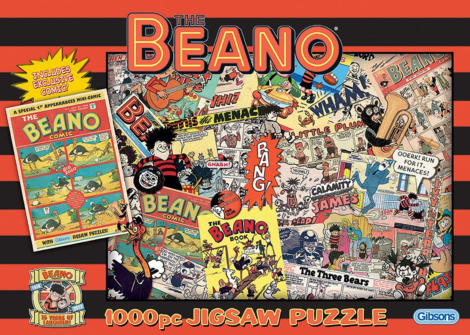 Gibsons The Beano 75 Years Jigsaw Puzzle (1000 Pieces)