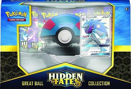 Pokémon TCG Hidden Fates Great Ball Pokéball Deck Holder Card Storage