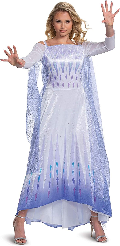 Frozen 2 Elsa Cosplay Costume Frozen Adult Costume Frozen Cosplay Dress