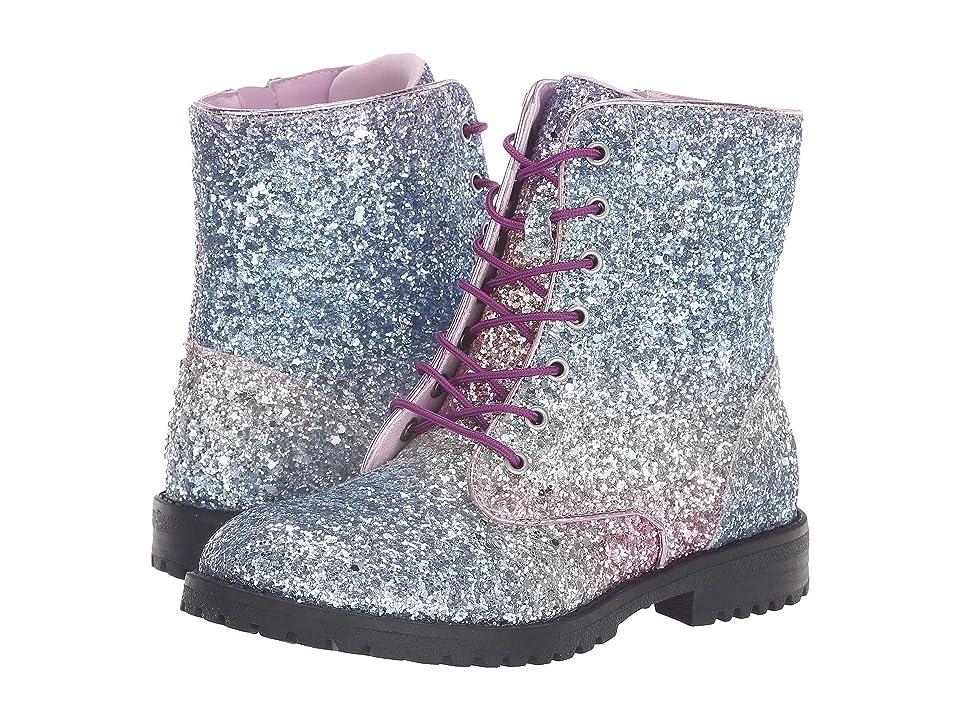 Sam Edelman Kids Polly Sophia Chunky (Little Kid/Big Kid) (Rainbow Ombre Chunky Glitter) Girls Shoes