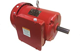 North American Electric (F184T5S4C-MO) General Purpose, Totally Enclosed Fan Cooled 5HP, 1PH, 18000RPM, Electric Motor.