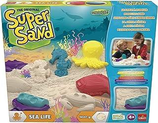 Goliath-83293 Super Sand Vida Marina, Color Blanco, única (