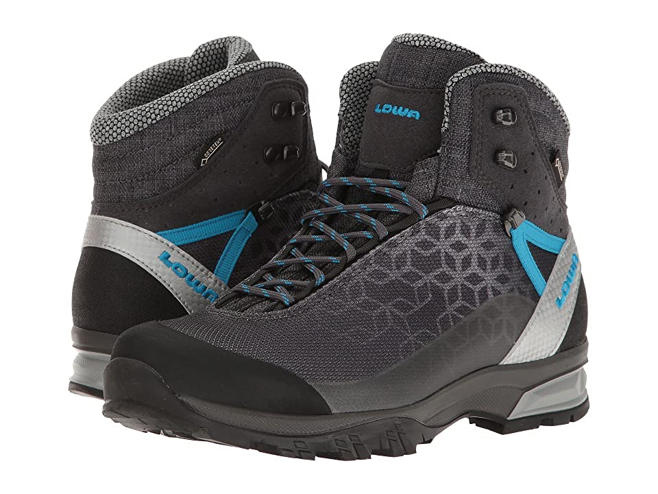 Lowa Lyxa GTX Mid (Anthracite/Blue) Women