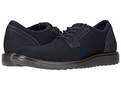 Dockers Einstein Knit/Leather Smart Series Dress Casual Oxford with NeverWet (Navy Textile/Nubuck) Men