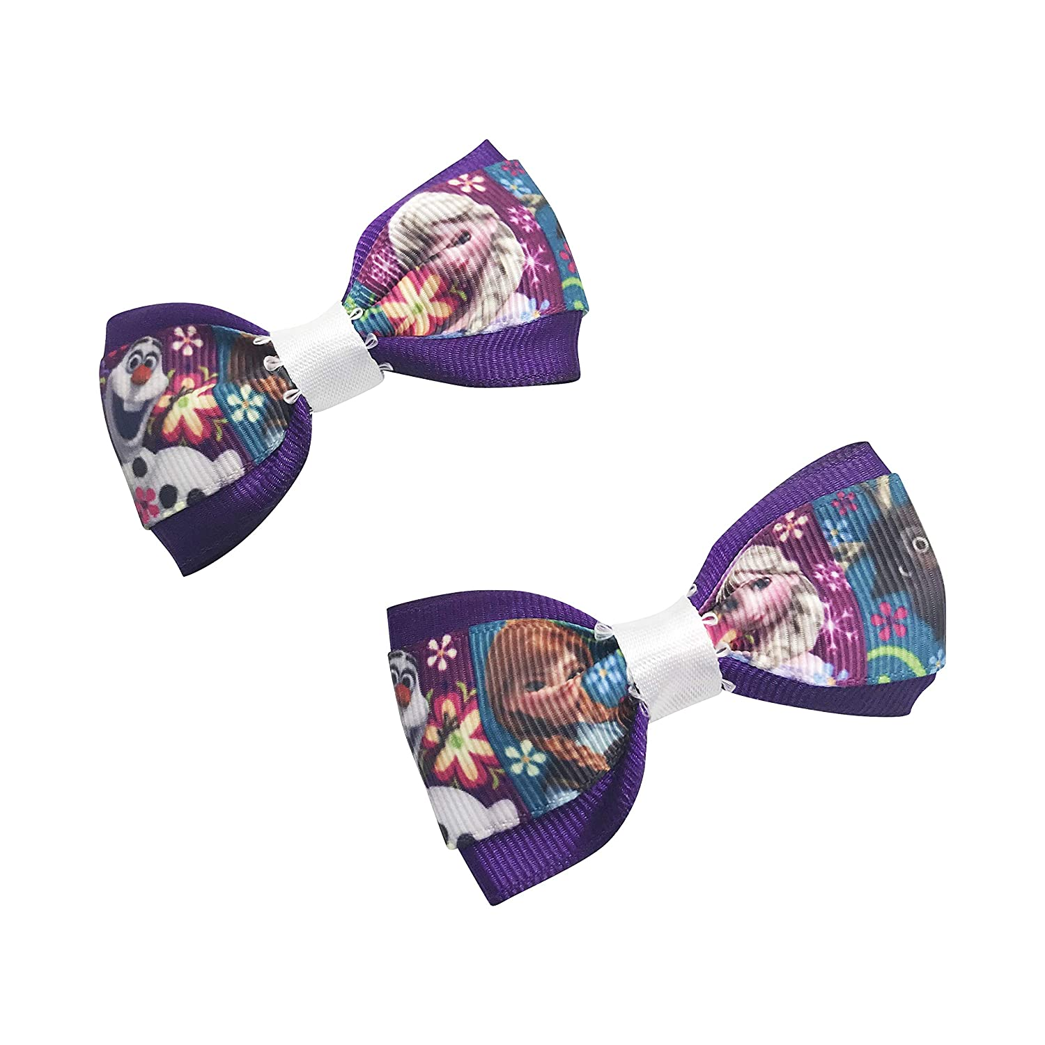 Tampa Mall Frozen Elsa and Anna Girls Hair Now on sale Girl Little Set Pigta Bows Bow