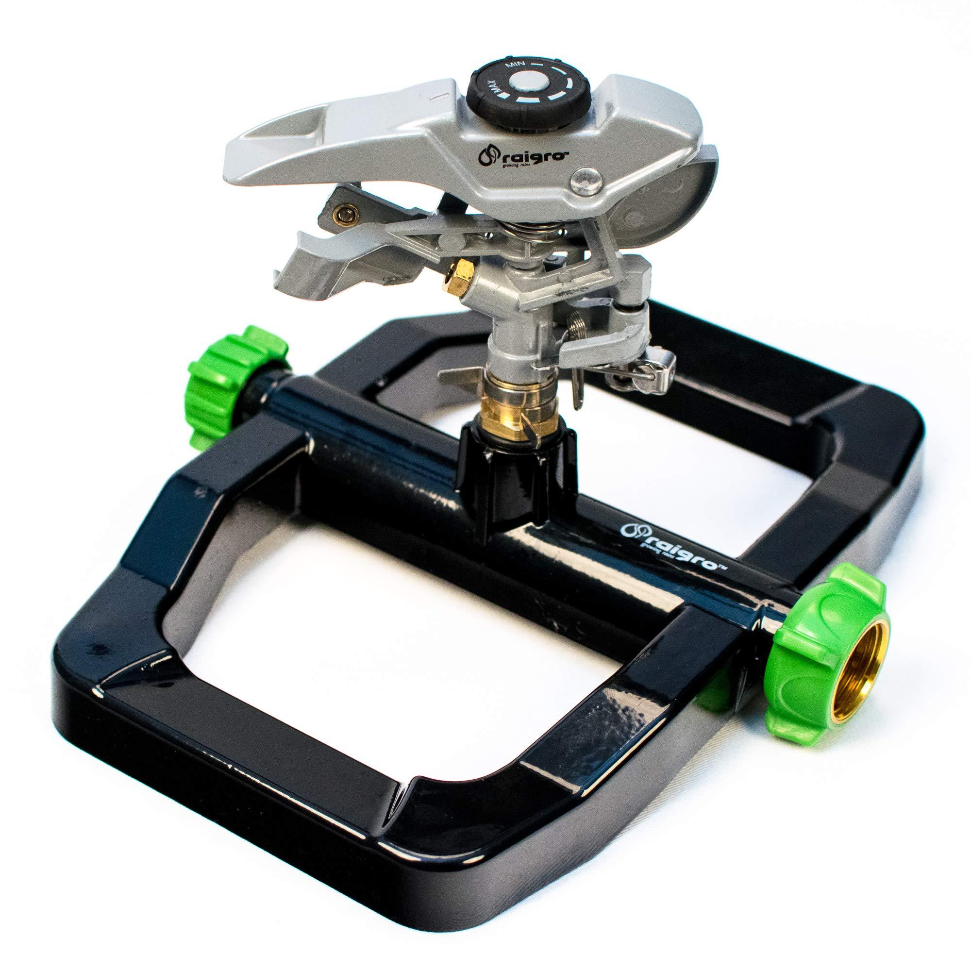 Raigro Pulsating Sprinkler Diameter Adjustable