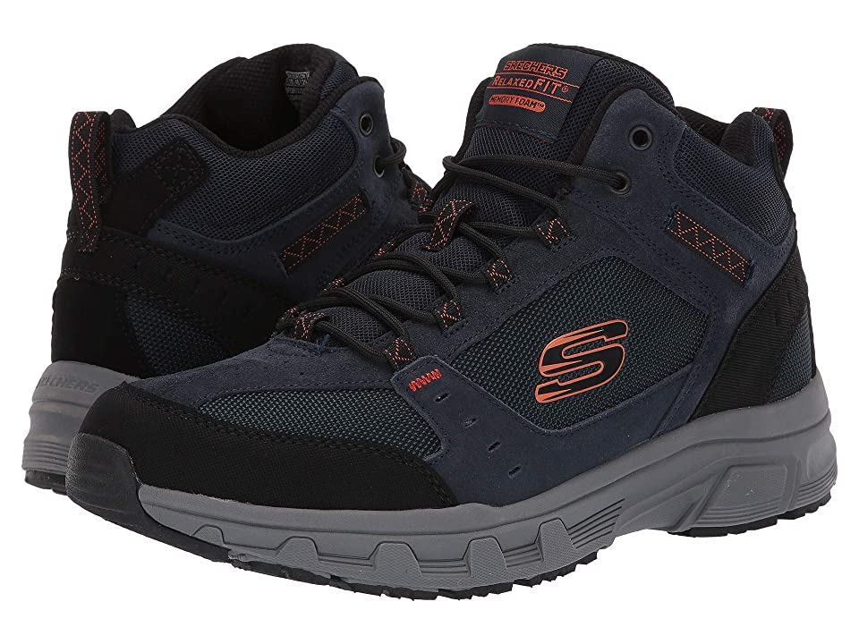 SKECHERS Oak Canyon Ironhide (Navy/Orange) Men