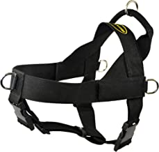 Dean & Tyler DT Universal No Pull Dog Harness with Adjustable Straps, Black