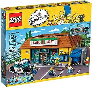 Lego The Simpsons Kwik-E-Mart - juguetes para el aprendizaje (38 cm, 27 cm, 14 cm) Multi