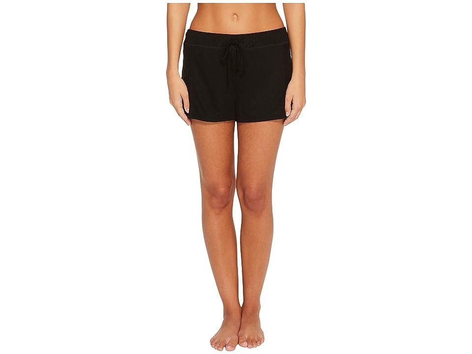 Splendid Always Sleep Shorts (Black) Women