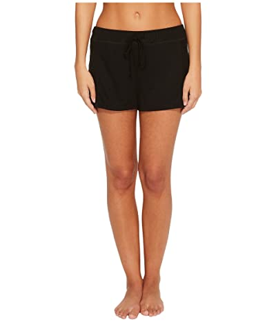 Splendid Always Sleep Shorts (Black) Women