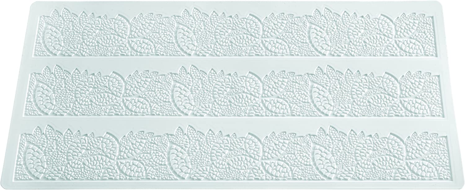 Sale Silikomart Silicone Wonder Beauty products Cakes Collection Mats Lace for Sugar