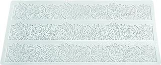 Silikomart Tapis de dentelle feuillages, Blanc
