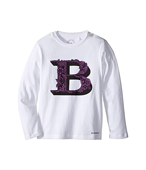 Burberry Kids Graphic Long Sleeve Top (Infant/Toddler)