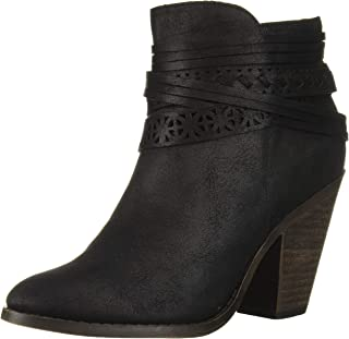 Fergalicious Women's Weldon Ankle Boot, Black, 5.5M M US